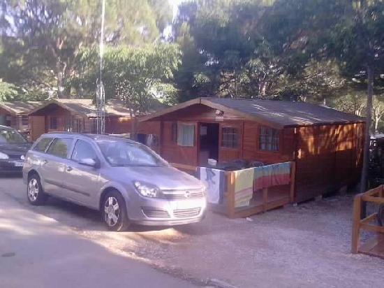 Camping Cabopino : vendu sur le site pour 2 personnes .