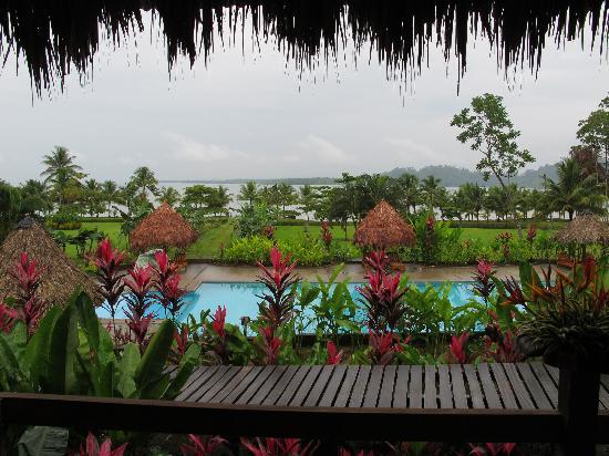 Villas Corcovado: View taken from hotel restaurant