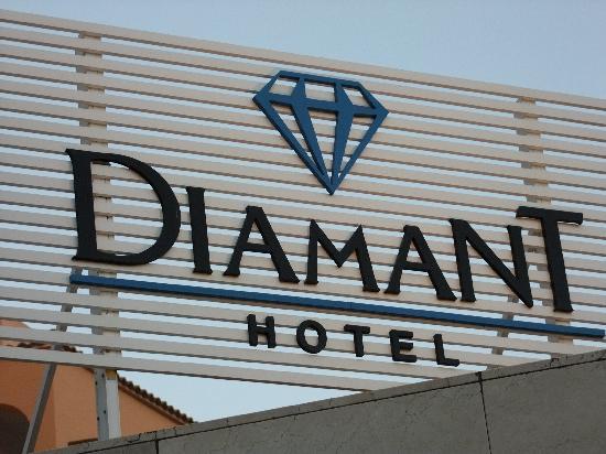 Diamant Hotel: ingresso