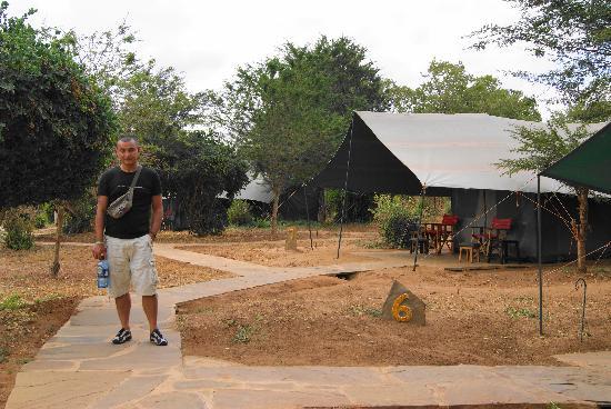 Sentrim Tsavo East : le tende