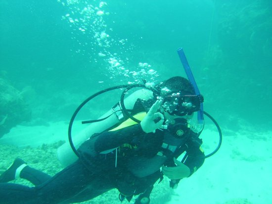 Dressel Divers: A Happy Diver :-)