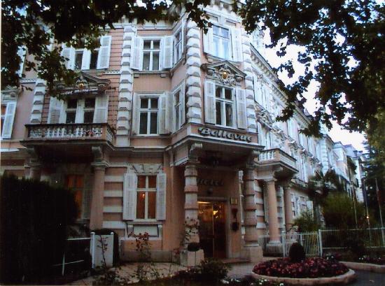 Grand Hotel Bellevue: Eingang