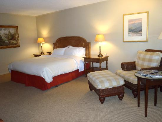 The Lodge at Riverside: First Impression of room