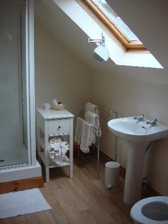 Coinachan Guest House : en-suite bathroom