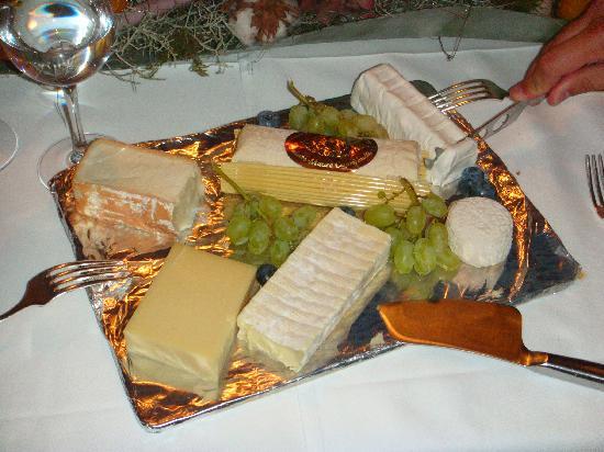 Hotel Friedheim: Exzellenter Käse