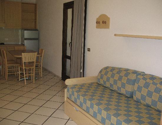 Residence Hotel Porto Mannu: Interni appartamento BILO I