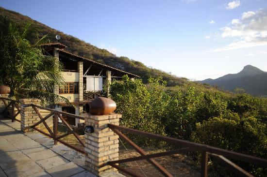 Fazenda Pedra dos Ventos Resort - Hauptgebäude mit Restaurant und Lobby
