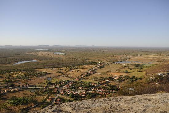 Fazenda Pedra dos Ventos Resort - Blick vom Aussichtspunkt