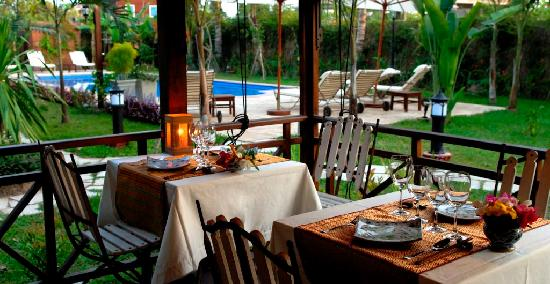 La Palmeraie d'Angkor: Restaurant