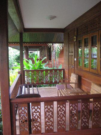 Smile House Resort: front porch