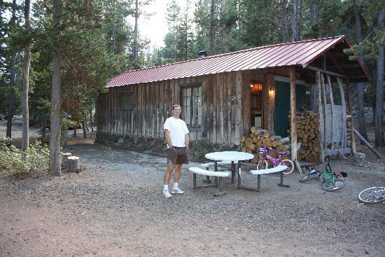 La Pine, Oregón: The Cabin