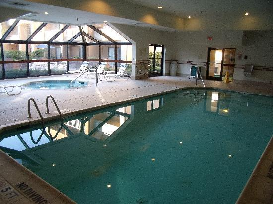 indoor pool and hot tub. Wonderful Pool Courtyard By Marriott Mahwah Indoor Pool U0026 Hot Tub On Pool And Hot Tub E