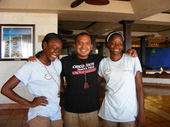 Sandals Montego Bay : We love our Playmakers!!!