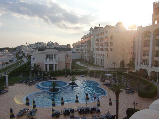 Sunset Resort: utsikt från rummet