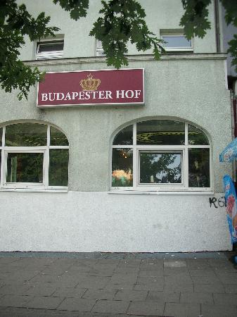 Hotel Budapester Hof : fachada del hotel