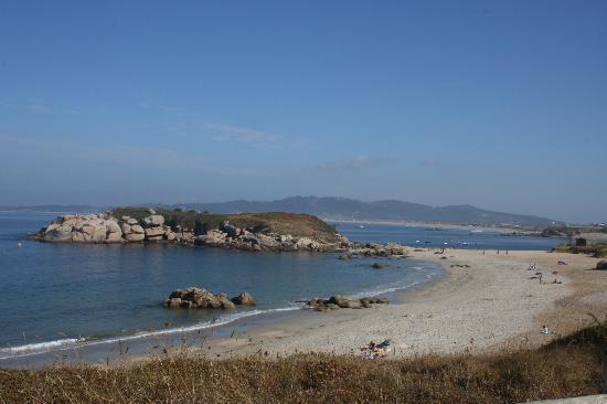 Hotel Delfin Azul: Vista de la playa