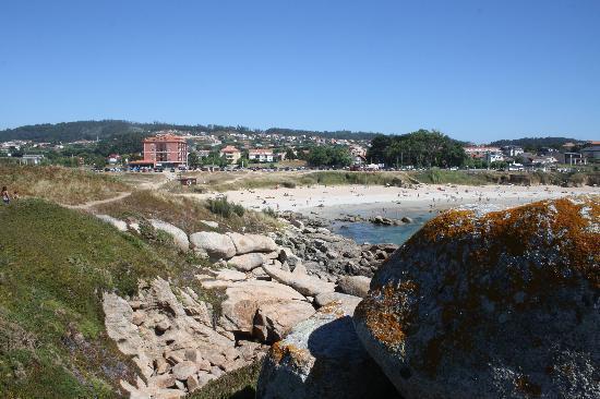 Hotel Delfin Azul: Vista del hotel desde el islote