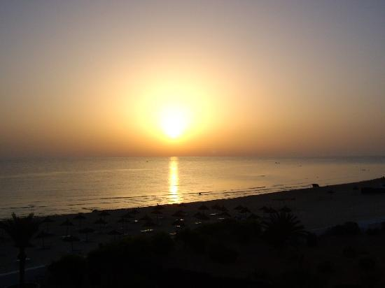 Club Calimera Yati Beach: Sonnenaufgang
