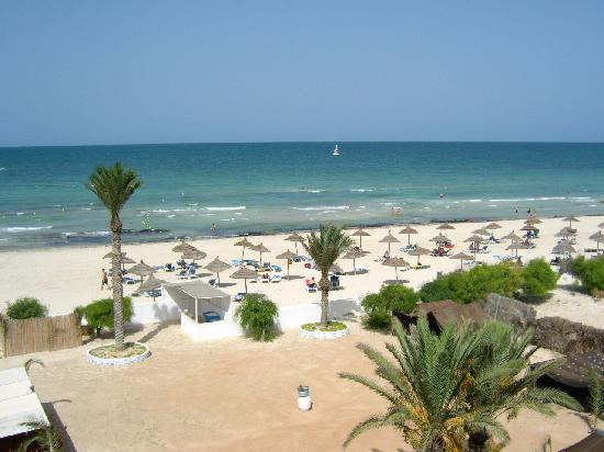 Club Calimera Yati Beach: Strandblick