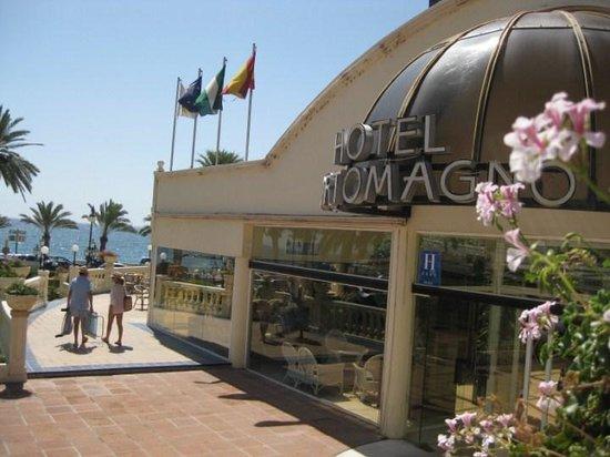 Hotel ATH Portomagno: entrada