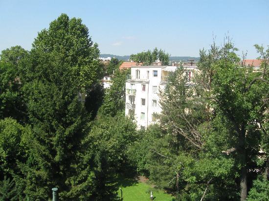 Hotel Ekazent: vista dalle finestre