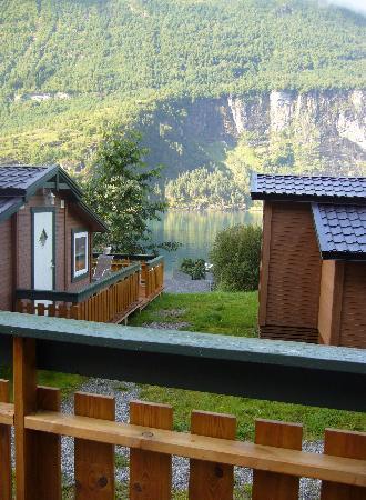 Grande Hytteutleige og Camping: ésta es la vista al mismo precio de las que están por delante
