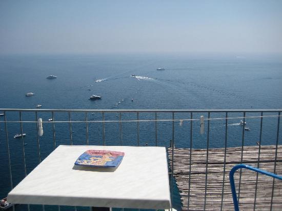 Villa Nettuno: view from the balcony