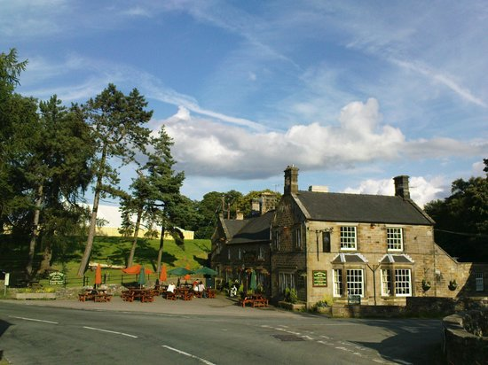 Front Of Inn Picture Of The Manifold Inn Hartington