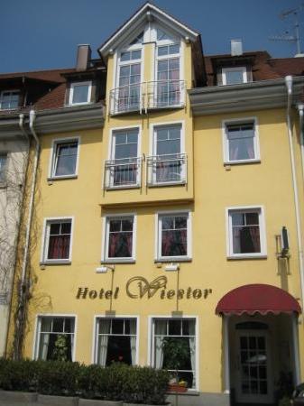 Hotel Garni Wiestor: Hotel Fassade