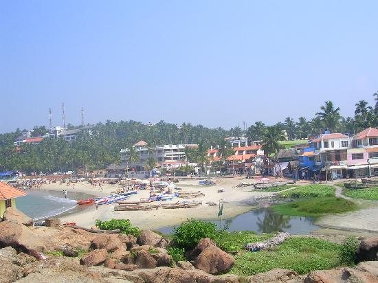 Maharaju Palace: une des plages de Kovalam
