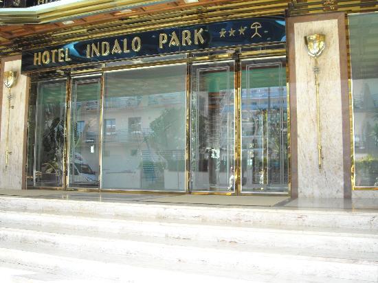 Hotel Indalo Park: Eingang