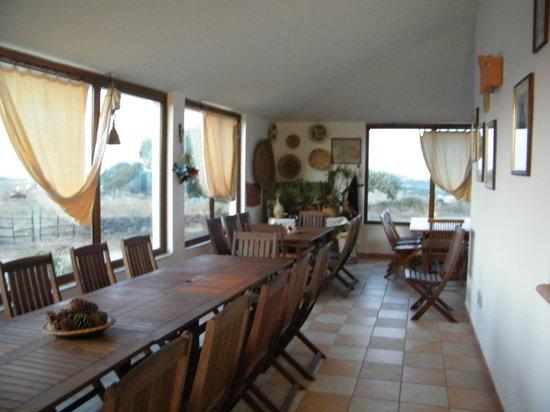 Nulvi, Italy: sala pranzo