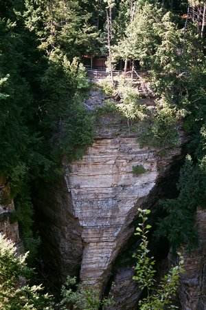 Keeseville, Νέα Υόρκη: Elephant's Head - Cool rock formation!