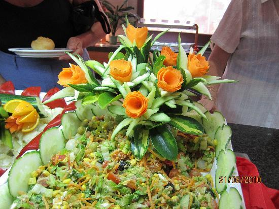 Hotel Costa Caleta: Some catering creativity !