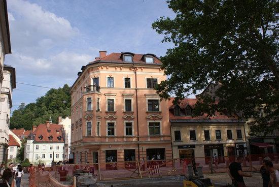 Eslovênia: ville de Ljubljana