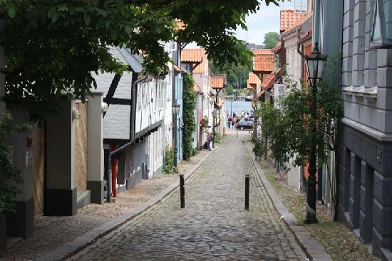 Flensburg, Germany: Gasse zum Hafen