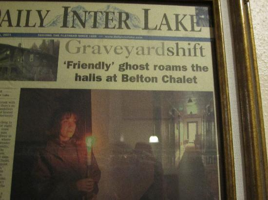 Belton Chalet : Some say it is haunted...!