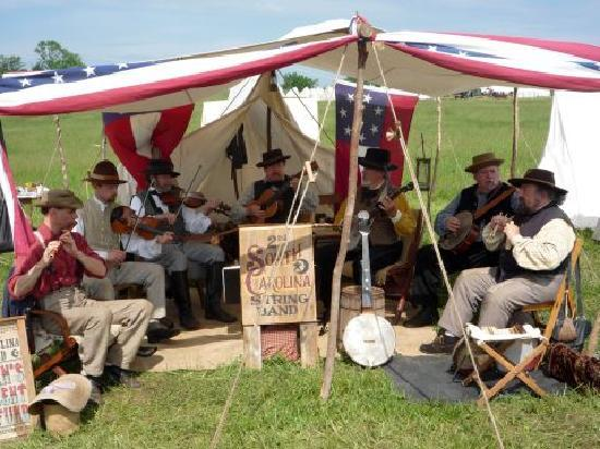 New Market State Historical Park: 2nd South Carolina String Band