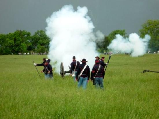 New Market State Historical Park: Tactical reenactment