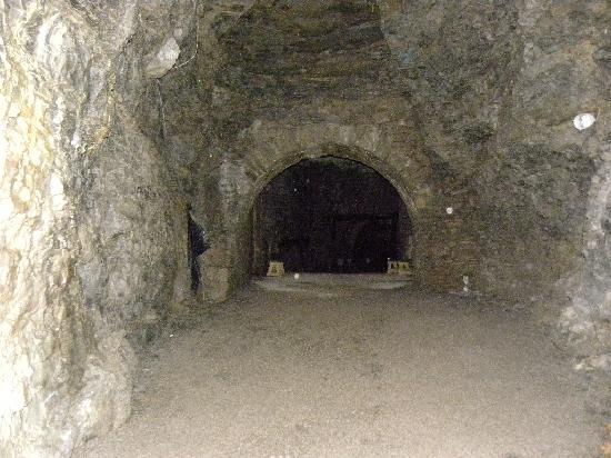 Inside the Lockport Cave