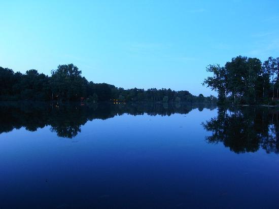 Hücker Moor: herrliche Stille und Lichtstimmung zur blauen Stunde