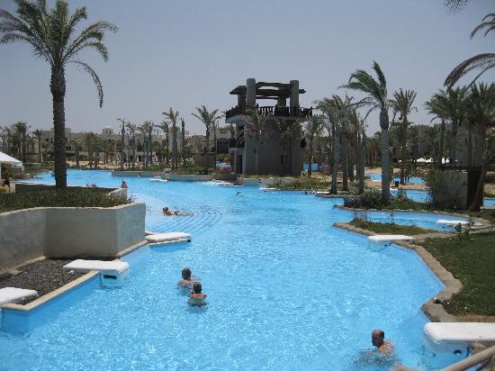 Port Ghalib Resort: lagon