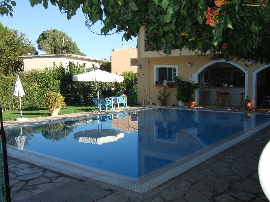 Gouvia, Greece: Pool area