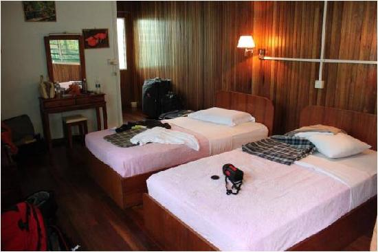 Kinabatangan Riverside Lodge: Our room