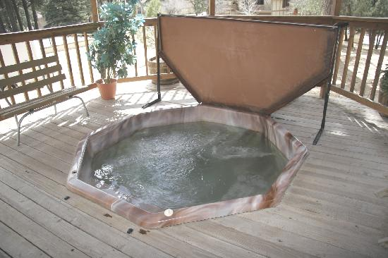 Village Lodge: Hot tub