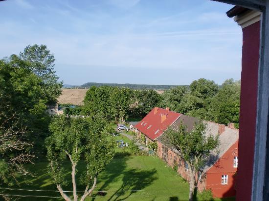 Schloss Spyker: Aussicht aus Zimmer