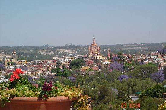 Casa Maria Bed and Breakfast: Great view from the terrace