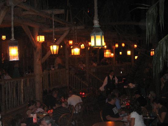 Blue Lagoon Restaurant - Disneyland Paris: Inside the Blue Lagoon restaurant.