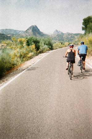 Andalucian Cycling Experience Day Trips: Nice quiet roads