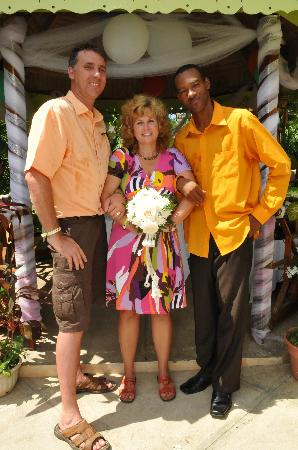 Uton's Private Tours : My husband, Ransford of Uton Tours and me on our special day.